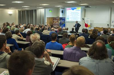 About 300 people attended to hear Lord Deben speak