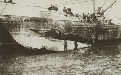 UC-44, sister sub of UC-47. Credit: US NARA.