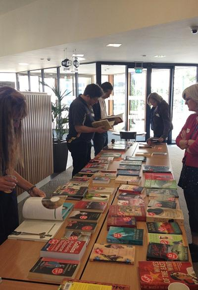 October Books on sale at study day