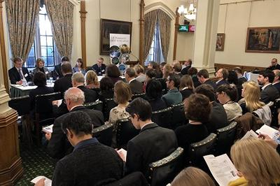 Audience at Parliamentary event