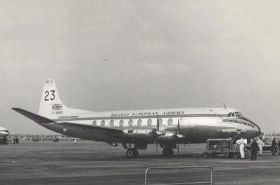Vickers Viscount aircraft