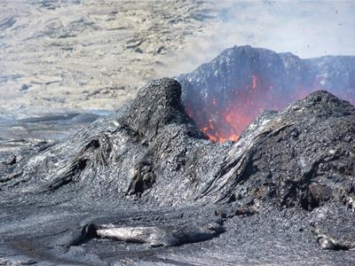 Lava at the summit of Erta Ale