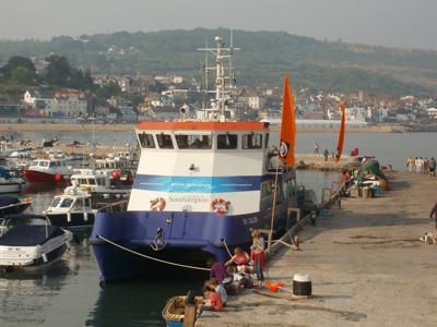 Callista at Lyme Regis