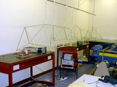 Active/passive anti-vibration test