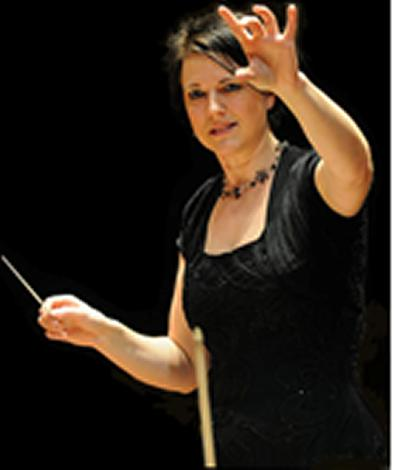 Newly appointed SUSO Music Director Susanna Riddell.
