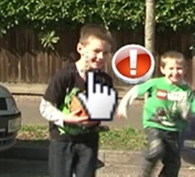 Road safety interactive videos for children