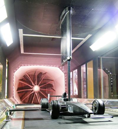 Wind Tunnel testing and characterisation of Indy car