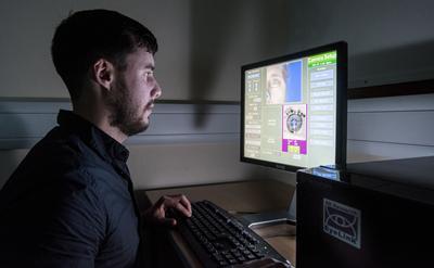 Monitoring eye tracking experiment