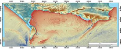 Geological features of the Jurassic Coast.