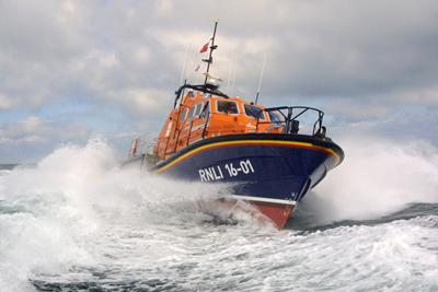 Our partnership with the Royal National Lifeboat Institution has enabled it to make efficiency savings without affecting performance