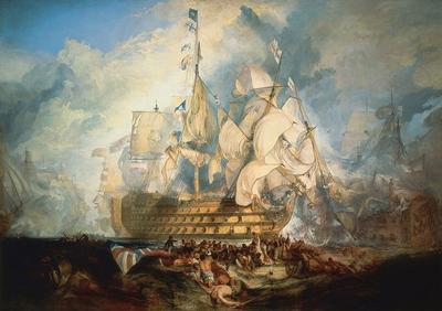 at the Battle of Trafalgar