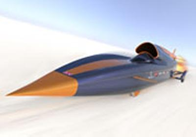 University of Southampton helps drive supersonic car into schools.