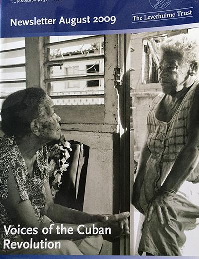Lidia Limonta Mineto (left) with her friend Eva. Santiago de Cuba