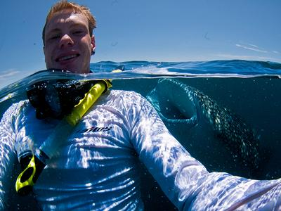 Simon Hilbourne, MSci Marine Biology graduate