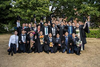 2018 Graduates from our campus in Malaysia