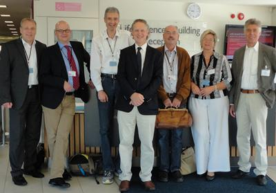 Clinical leads from Kassel in Germany visit Southampton