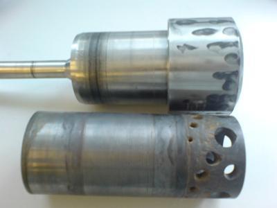 Damaged choke valve