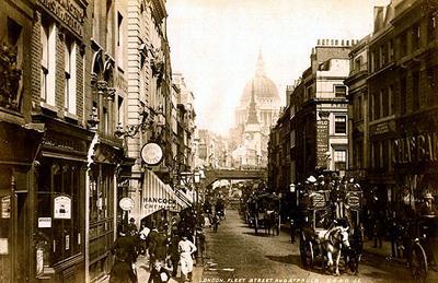 Image of Fleet Street by James Valentine