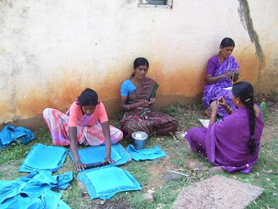 Visiting income-generation projects gives insight into challenges of Indian residents