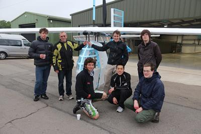 'Speed with Guy Martin' team at Lasham Airfield