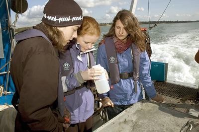 Oceanography undergraduate field course