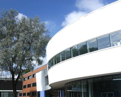 Modern extension to the Hartley Library on Highfield Campus.