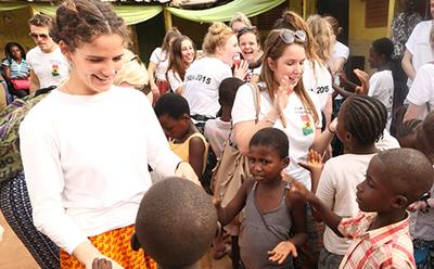 BSc Population and Geography field trip to Ghana
