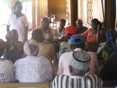 Meeting with Community Key Informants (CKIs) - Ghana