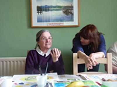 People with dementia were involved in the research