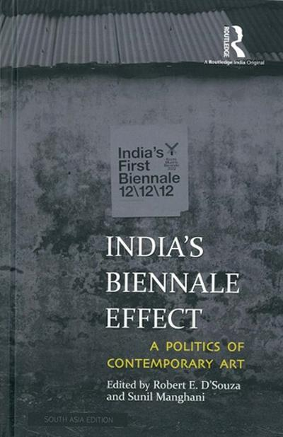Cover of the book: India's Biennale Effect