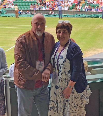 Stefan Cross and Dr Alison Steele