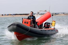 Powerboating in Southampton Water