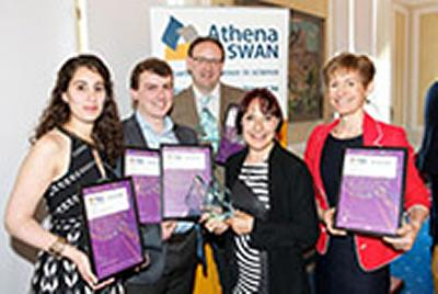 Athena SWAN); Martin Solan (Reader, Ocean & Earth Science); Su White (Senior Lecturer, ECS); Professor Dianna Eccles (Medicine Athena SWAN Chair)