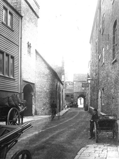 Southampton streets circa 1880