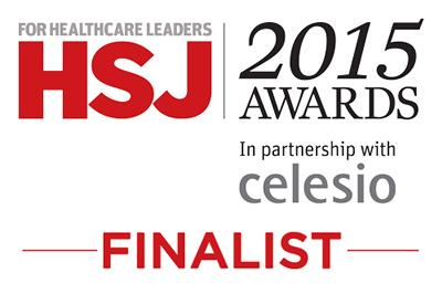 HSJ 2015 Awards Finalist