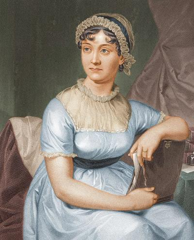 Painting of Jane Austen