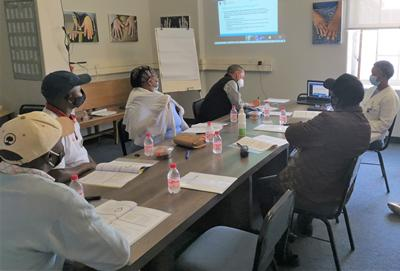 Community Working Group webconferencing with Southampton