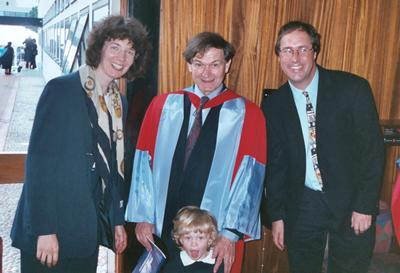 Sir Roger received an Honorary Doctorate from Southampton in 2002.