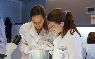 Rachel Skilton (right) and Colette O'Neill (left) of the research team