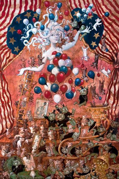 Molly Crabapple, Debt and her Debtors, 2013