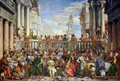 The Wedding at Cena by Paolo Veronese (1528-1588)