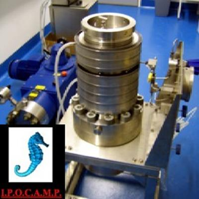 High pressure quaria being used as part of the MIDAS project