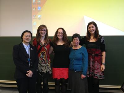 The five FSHMS contestants