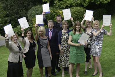 The Interdisciplinary Research team pick up their Vice Chancellor's Award 2012