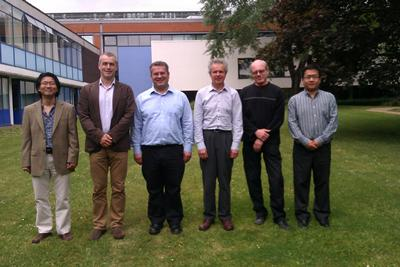 From left to right: Yongmann Chung; Andy Cruden; Suleiman Sharkh; David Infield; Dave Stone; Lin Jiang