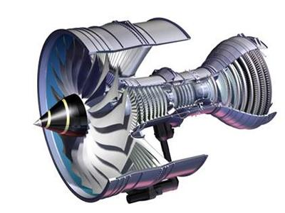 Gas turbine engine, image courtesy of Rolls-Royce plc.