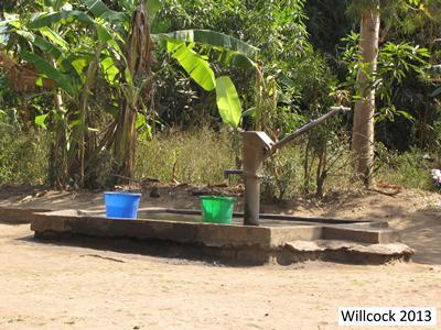 Water pump in Malawi
