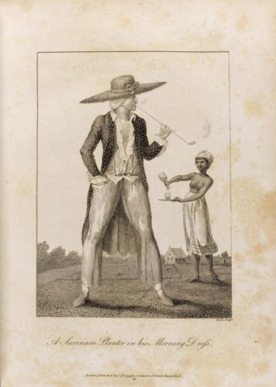 """A Planter in his Morning Dress"". Courtesy of the Hartley Library Special Collections, University of Southampton."