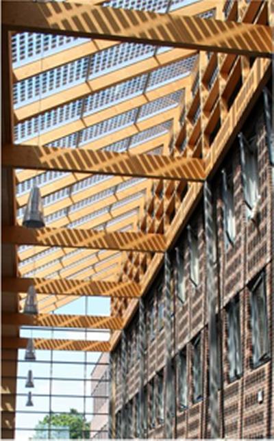 Photovoltaic atrium