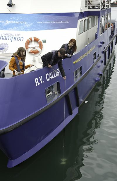 RV Callista is unique to Ocean and Earth Science